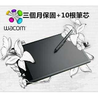 Wacom CTL471手繪板數位板繪畫板bamboo電腦手寫板輸入加贈(電子筆芯x10)