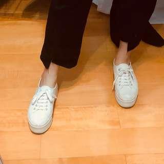 🚚 義大利🇮🇹 SUPERGA 小白鞋 厚底鞋