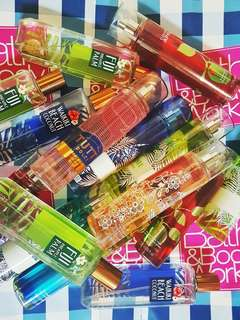 Bath and Bodyworks Fine Fragrance Mist