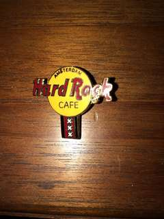 Hard Rock Cafe Amsterdam Pin badge collectible