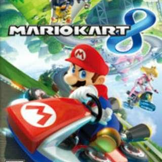 美版 Wii U Mario Kart 8