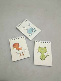 Mini coloring book 3 pcs