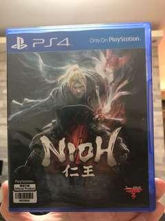 PS4 仁王 nioh game 遊戲 (不議價)