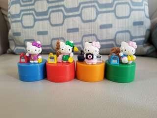 4 x Hello Kitty x MTR印仔