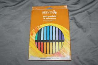 REEVES soft pastels 36pcs (ori)