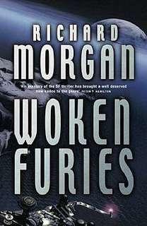 Netflix Altered Carbon - Woken Furies - Richard K. Morgan