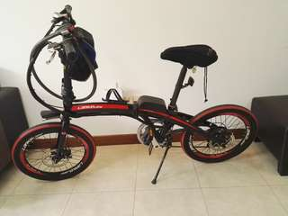 Electric Bicycle Branded Lanke Leisi E Bike