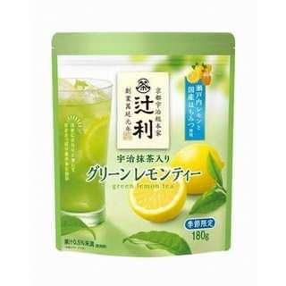 🚚 日本期間限定 辻利青檸檬茶