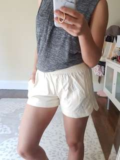 Faux leather shorts. XS - Small