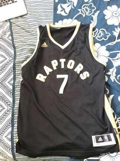 Raptors Jersey (gold and black- large)