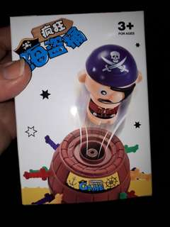 Pop up pirate game