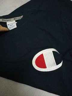 Champion Embroidery Logo Tee