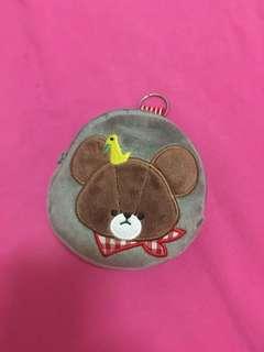 🚚 小熊學校 零錢包 耳機包 鑰匙包 鑰匙圈