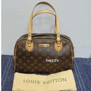 AUTHENTIC Louis Vuitton LV Monogram Monterguil PM