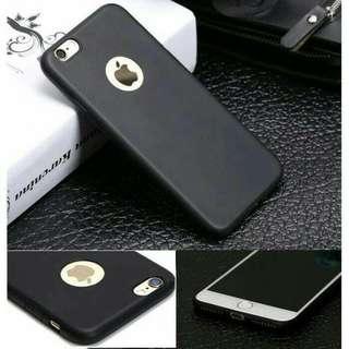 Softcase Slim Black Matte Case Apple Iphone 6