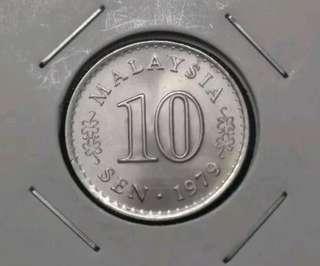 《UNC》10sen 1979.