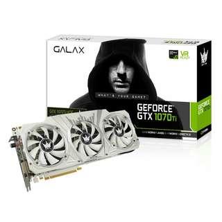 GALAX GTX 1070 TI HOF WHITE 8GB GDDR5