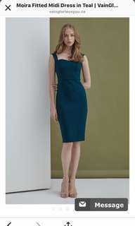 Moria Teal Dress VGY