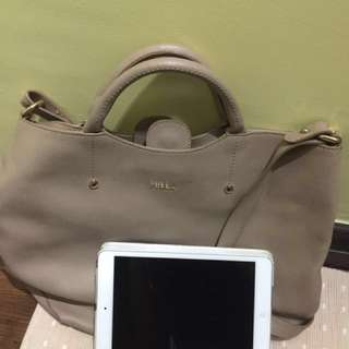 Furla bag beige colour