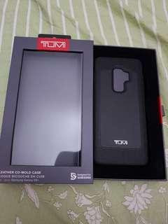TUMI LEATHER CASE SAMSUNG S9+