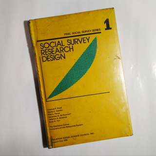 Social Survey Research Design
