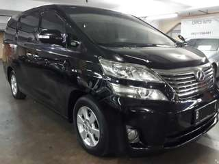Toyota Vellfire X-type 2.4 AT th.2010.Double SUNROOF