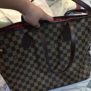Louis vuitton never full bag