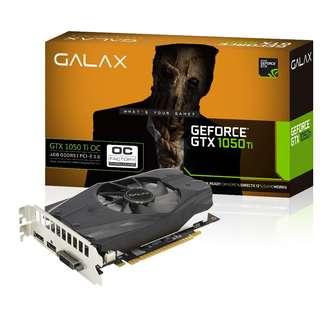 GALAX GTX 1050 TI OC 4GB GDDR5