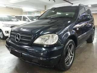 Mercedes-Benz ML 320 AT th.2000 .nopol B-JakSel.Kondisi PRIMA
