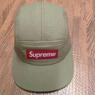 Supreme  卡其 五分割帽