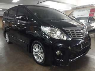 Toyota Alphard S-type 2.4 AT th.2008 .nopol B-JakSel.Unit Sangat TERAWAT.