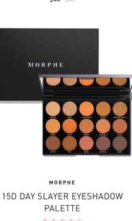 PRE-ORDER AUTHENTIC MORPHE 15D DAY EYESHADOW PALETTE