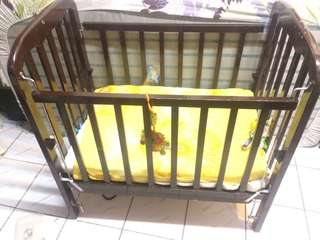 Preloved Wooden Crib
