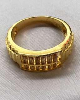 (Gold rings - Gold 916) + (Gold 999 Bracelet)