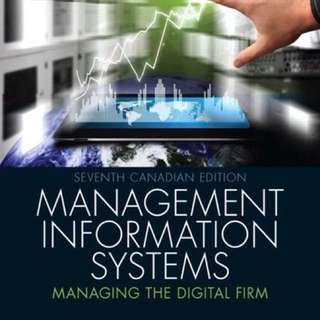 PDF  SMS 415 - Management information systems, 7th edition