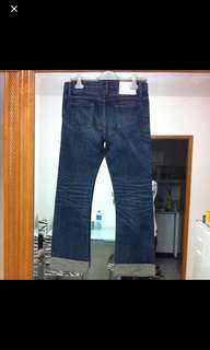 $500>$300 ! NEIGHBORHOOD JEANS DENIM PANTS 褲 牛仔褲