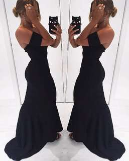 NEW - Black Ball Gown - Size M