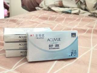 Acuvue contact lenses monthly (-4.50)