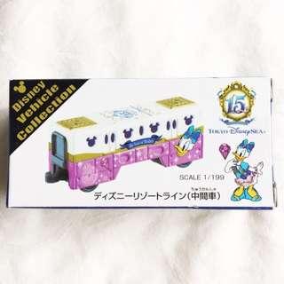 Takara Tomi Japan Tokyo Disneysea 15th Anniversary Monorail Daisy Duck Edition