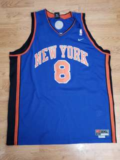 LATRELL SPREWELL NEW YORK KNICKS JERSEY