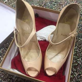 Christian Louboutin Jane Vendrome 120 Patent