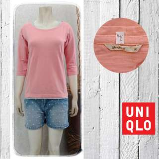 Uniqlo top pink