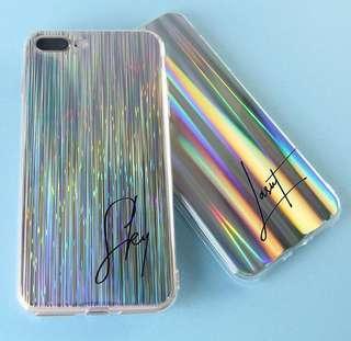 2pcs Case Holo Iphone