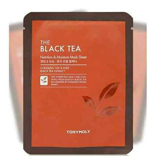 TONYMOLY The Black Tea Mask Sheet