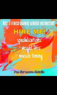 Fitness trainer/Aerobic instructor