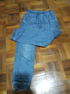 Jeans Loose Lined