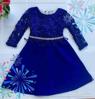 Dress lace raya size 3yrs #rayaletgo