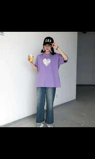 (PREORDER) Heart logo tshirt
