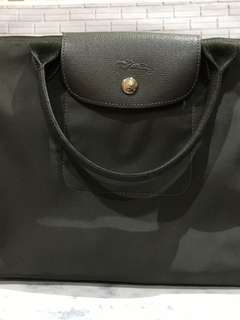 Longchamp Le Pliage Neo Medium Gray