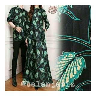 Kemeja Dan Gamis Couple Batik